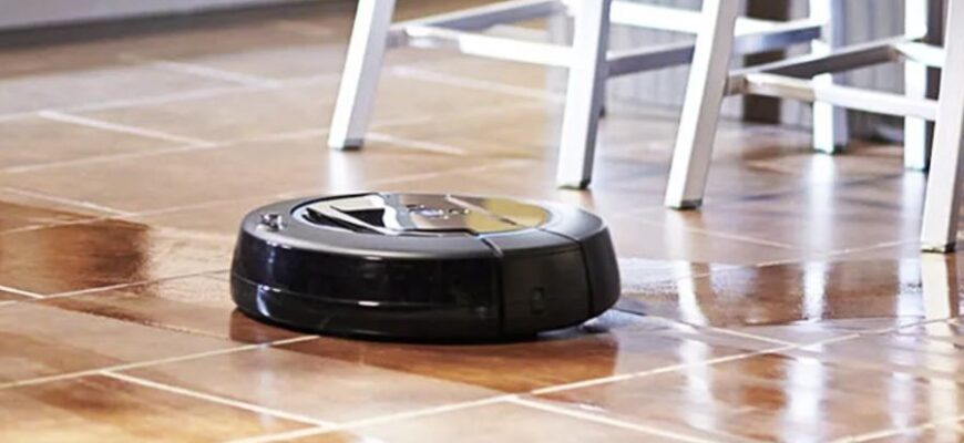 Моющий робот пылесос